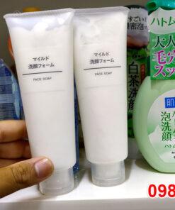 Sữa Rửa Mặt Muji Face Soap thích hợp cho mọi làn da. Đặc biệt với những cô nàng sở hữu làn da nhạy cảm.
