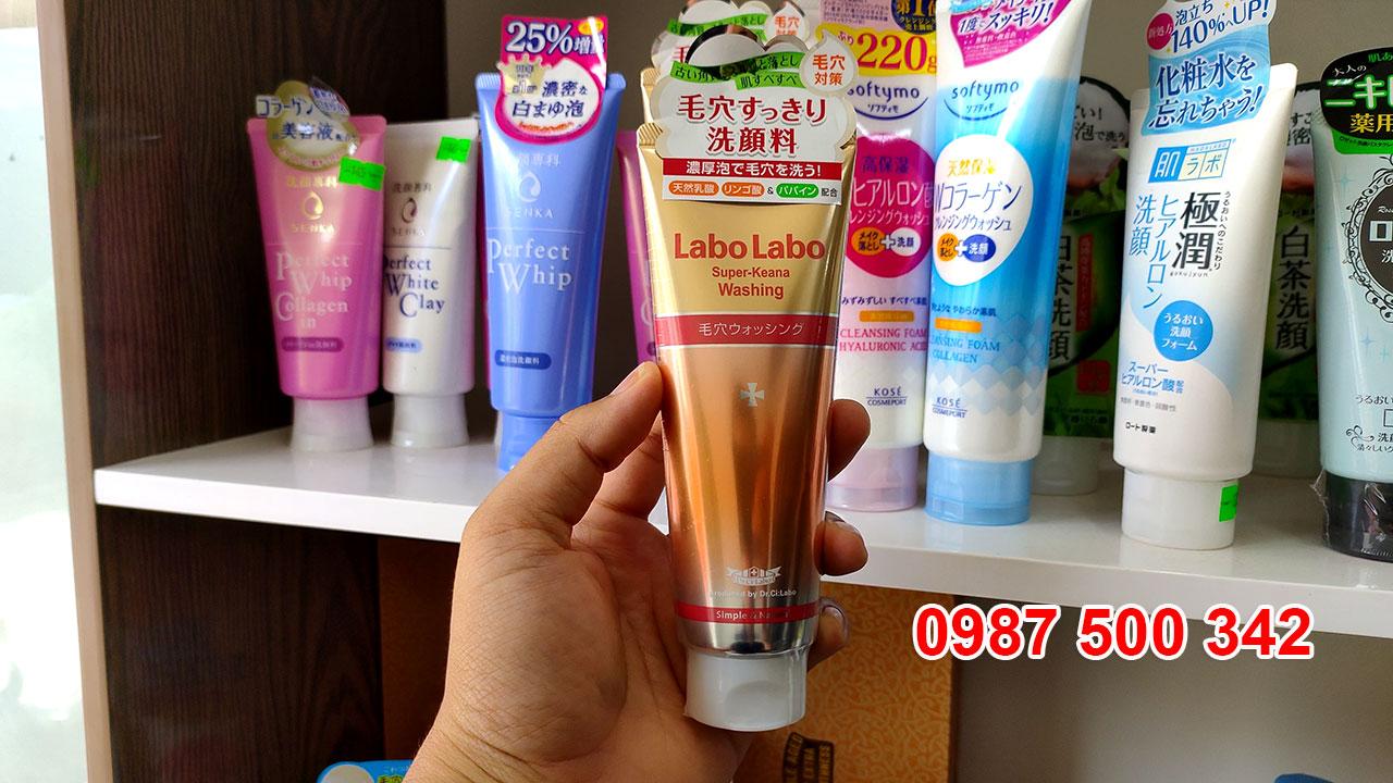 Sữa rửa mặt Dr.Ci Labo Labo Super Keana Washing 120g Nhật Bản