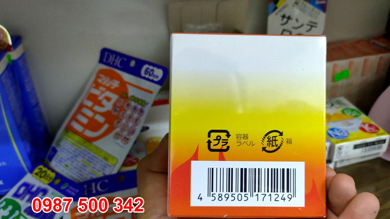 Mã vạch sản phẩm gel tan mỡ Onaka hot gel