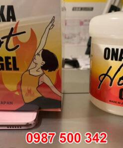 Kem tan mỡ bụng Onaka Hot Gel là sản phẩm uy tín và rất nổi tiếng tại Nhật Bản. Đây là vị cứu tinh cho những cô nàng bị ám ảnh vì mỡ bụng và mỡ thừa trên cơ thể. Với sản này này, các chị em có thể tự tin thả dáng và diện những bộ cánh yêu thích mà không lo kém duyên vì mập bụng nữa.