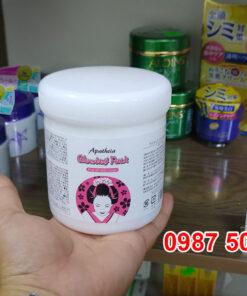 Review kem ủ trắng da toàn thân cô gái Nhật Apatheia Glowing Pack Nhật Bản