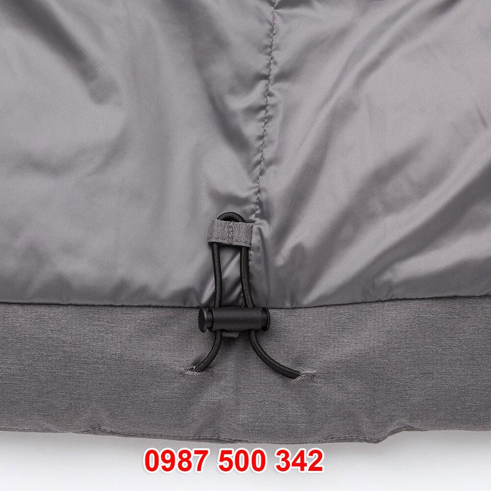 Chi tiết dây rút đai áo phao lông vũ nam Uniqlo đại hàn dáng ngắn 419989