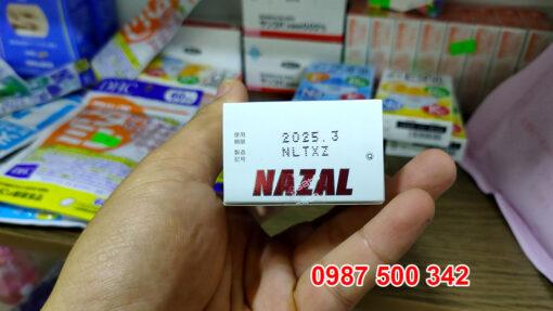 Thông tin Hạn sử dụng xịt mũi Nazal nội địa Nhật