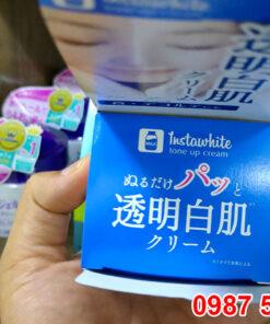 Nắp hộp Kem dưỡng trắng da Instawhite tone up cream Meishoku