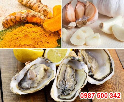 chiết xuất từ tinh chất hàu tươi vùng biển Seto Nhật Bản, kết hợp tinh chất nghệ tươi, tinh chất tỏi giúp bổ dương, thải độc gan, tăng cường sức khỏe sinh lý nam giới.