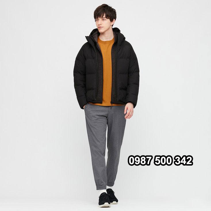 Áo lông vũ nam đại hàn Uniqlo 2020 màu đen 09 BLACK 429291