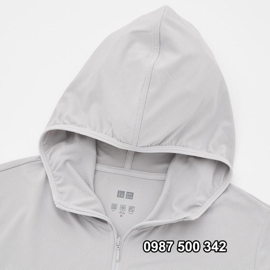 Mũ áo chống nắng Uniqlo 2021