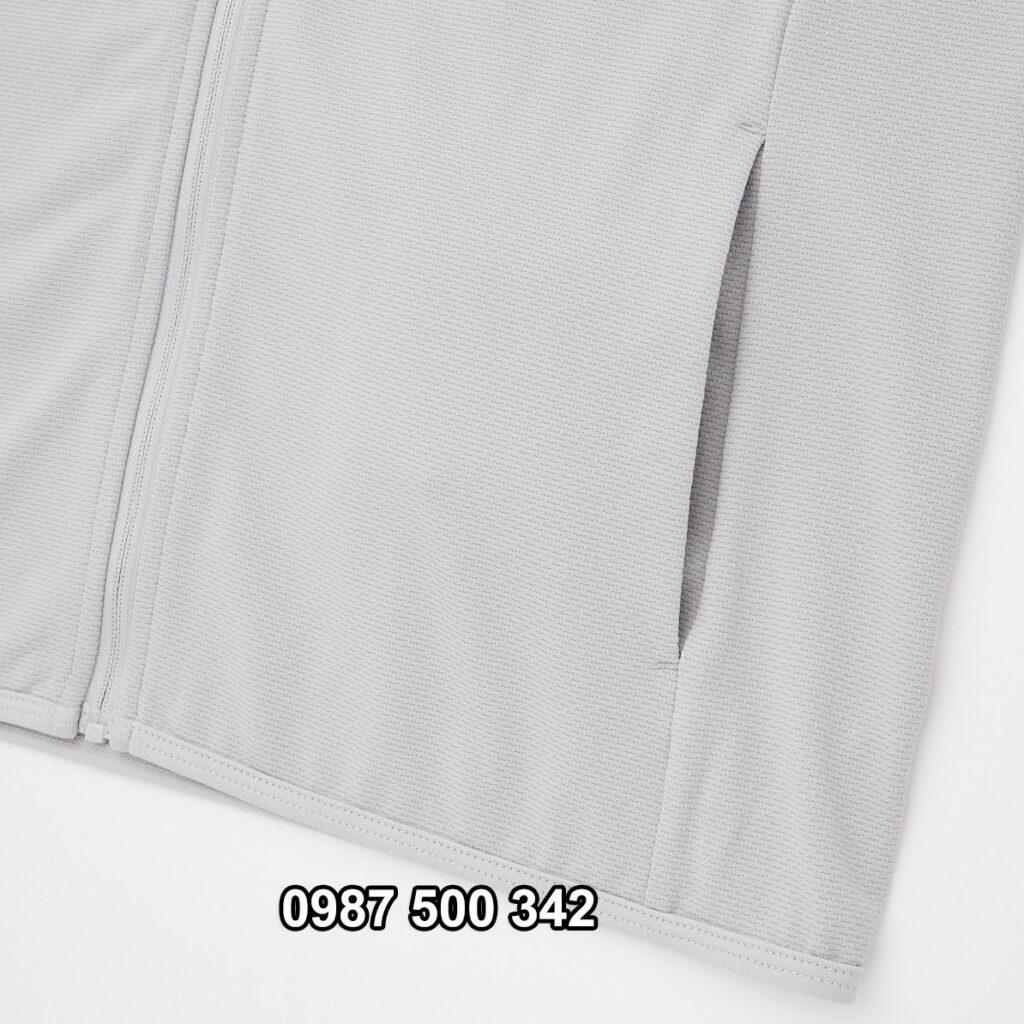 Túi ngoài áo chống nắng nữ Uniqlo AiRism 2021