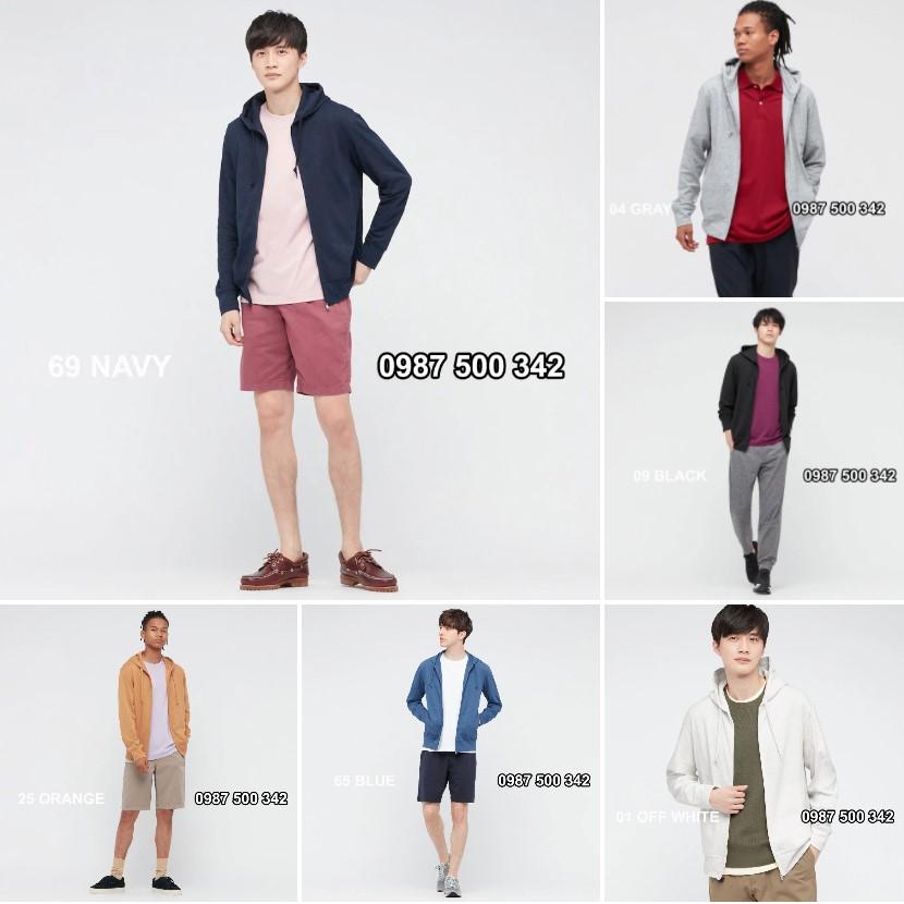 Màu sắc áo chống nắng nam Uniqlo AiRism 2021