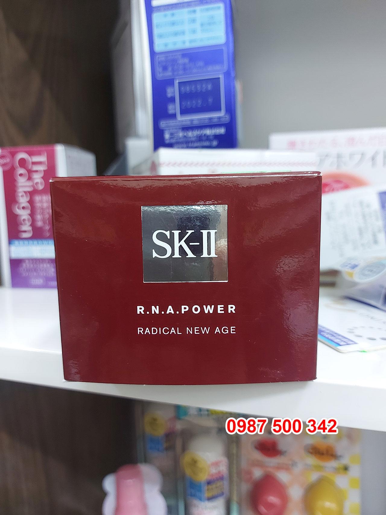 Hộp kem Dưỡng Ẩm Chống Lão Hóa SK-II R.N.A Power Radical New Age