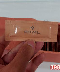 Gói Tinh chất serum nhau thai cuống rốn cừu Royal Large Placenta Nhật Bản 1.3ml