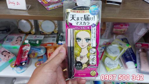 Chuốt mi Mascara Kiss me Heroine Nhật Bản hàng chính hãng