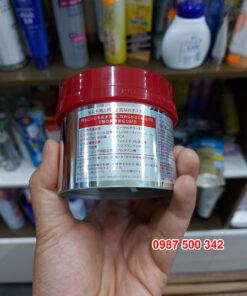 Thông tin mặt sau Kem ủ tóc Fino Shiseido Premium Touch Nhật Bản