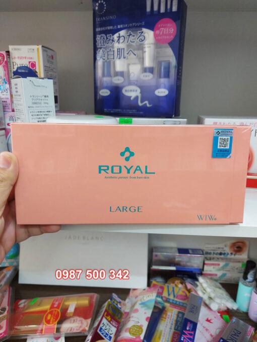 Tinh chất serum nhau thai cuống rốn Royal Large Placenta Nhật Bản