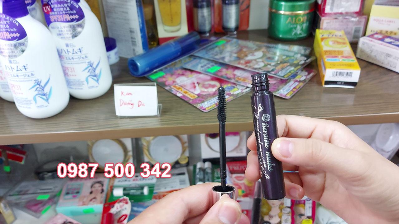 Review sản phẩm chuốt mi mascara Kiss Me Nhật Bản