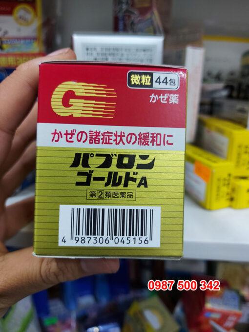 Mã vạch sản phẩm Thuốc cảm cúm Nhật Bản Taisho