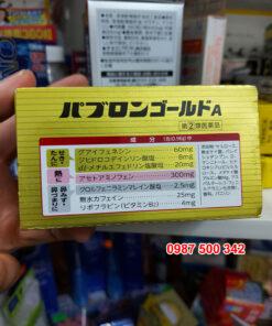 Thuốc cảm cúm Nhật Bản Taisho Pabron Gold A được tinh chế từ các thành phần có nguồn gốc từ thiên nhiên