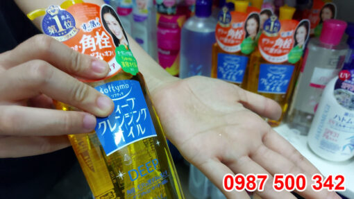 Dùng thử Dầu tẩy trang Kose Softymo DEEP Cleansing Oil 230ml