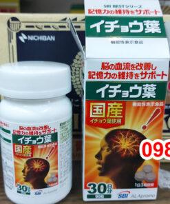 Review Viên uống bổ não SBI ALApromo 90 viên Nhật Bản