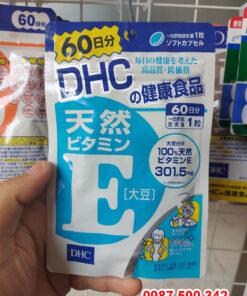 Viên uống bổ sung vitamin E DHC Nhật Bản 60 viên