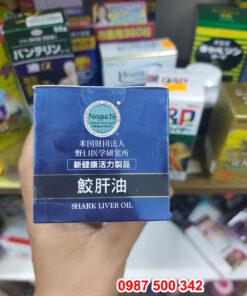 Hình ảnh nắp hộp Viên uống dầu gan cá Noguchi 1300mg 90 viên Nhật Bản