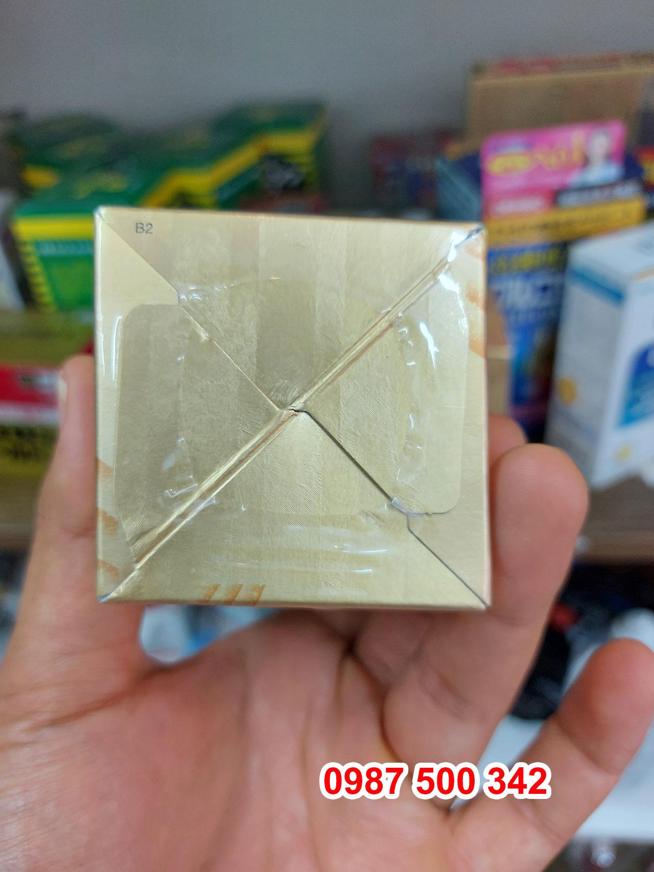 Ảnh đáy hộp Fucoidan vàng Umi No Shizuku 120 viên nội địa Nhật Bản