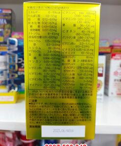 Thành phần dinh dưỡng trong Tảo xoắn Spirulina EX with Family Nhật Bản