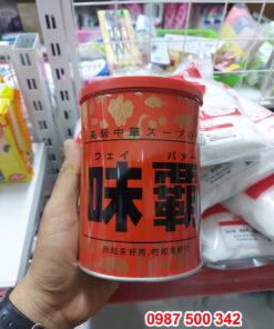 Trên tay sản phẩm Nước cốt hầm xương Hiroshi Nhật Bản 1000g