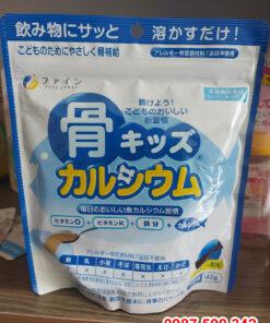 Bột Canxi cá tuyết FINE JAPAN 140g Nhật Bản