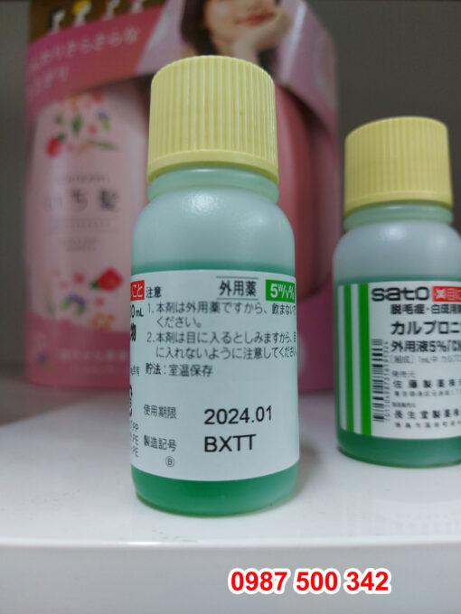 hạn sử dụng tinh chất thảo dược kích thích mọc tóc SATO Arovics 30ml Nhật Bản