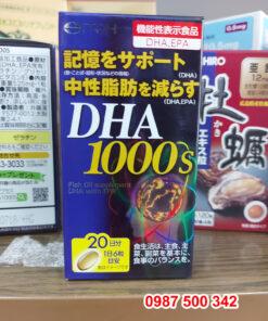 Viên uống bổ não Itoh DHA 1000s 120 viên Nhật Bản